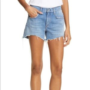 NWT rag & bone Dre denim shorts
